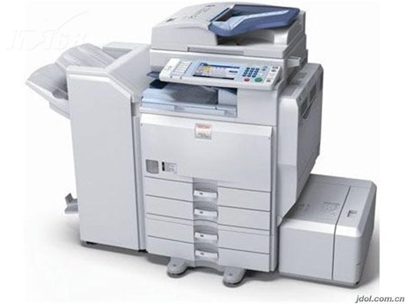 理光mp7001打印机从网上下载了驱动,但是不知道ip地址是什么,该